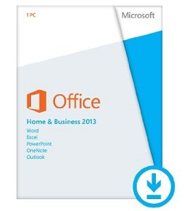 Licencia Microsoft Office Home and Business 2013